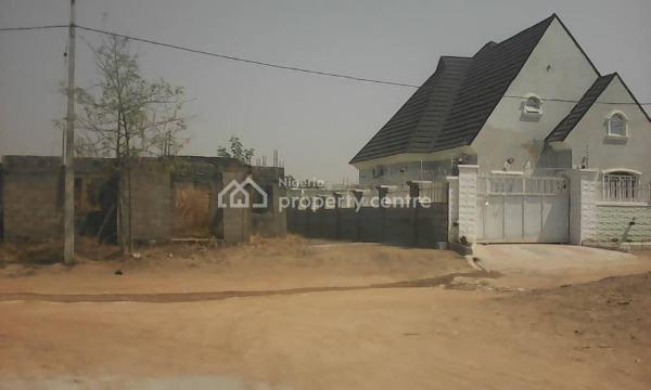3 Bedroom Fully Detached Duplex Carcass with a Bq, Aso Bus Stop, Airport Road, Lugbe District, Abuja, Detached Duplex for Sale