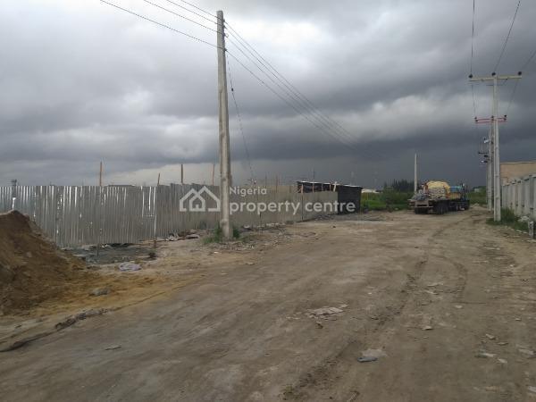 Facing Expressway: 12,000sqm Plot in a Strategic Location, Opposite Crown Estate, Sangotedo Expressway, Crown Estate, Ajah, Lagos, Mixed-use Land for Sale