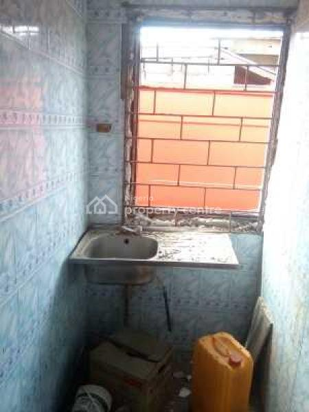 a Newly Renovated Spacious Selfconained, Church Road, Isheri - Ijegun, Jakande Gate Lagos, Oke Afa, Isolo, Lagos, Self Contained (single Rooms) for Rent