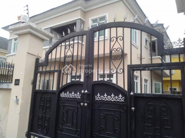 Spacious Pristine 5 Bedroom Fully Detached House, Chevy View Estate, Lekki, Lagos, Detached Duplex for Rent