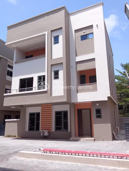 Newly Built and Nicely Finished 5 Bedroom Detached Duplex with a Room Servant Quarter, Fitted Kitchen, Swimming Pool, Gym,etc., Off Palace Road, Oniru, Victoria Island (vi), Lagos, Detached Duplex for Sale