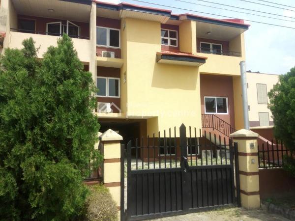 4 Bedroom Townhouse Duplex with Large Basement, Golden Park Estate, Sangotedo, Ajah, Lagos, Detached Duplex for Sale