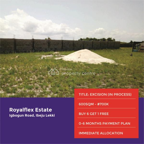 Land for Sale in Ibeju Lekki, Igbogun Road, After Lacampagne Tropicana, Ibeju Lekki, Lagos, Residential Land for Sale
