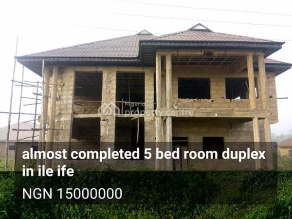 5 Bedroom Duplex, Idita Ile Ife, Ife East, Osun, Detached Duplex for Sale
