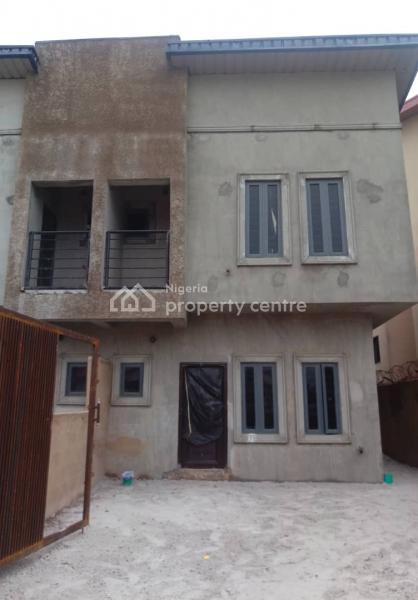 60% Complete 4bedroom Terrace Duplex, 5minutes to Safe Way Bus Stop/express Way, Sangotedo, Ajah, Lagos, Terraced Duplex for Sale
