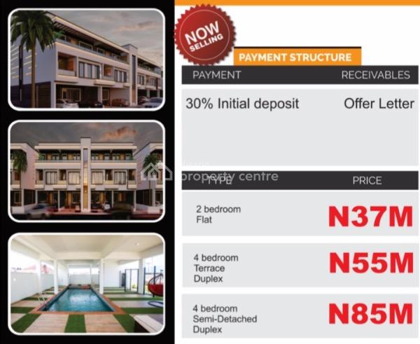 Luxury 2bedroom Penthouse Opposite Lekki Phase 1, Along Nike Art Gallery, Opposite Freedom Way, Lekki Phase 1, Lekki, Ikate Elegushi, Lekki, Lagos, Block of Flats for Sale