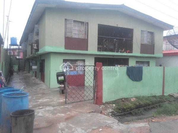 4 Flats for The Price of One, Around Latter Rain Bus Stop, Akilo Road, Ogba, Ikeja, Lagos, Block of Flats for Sale