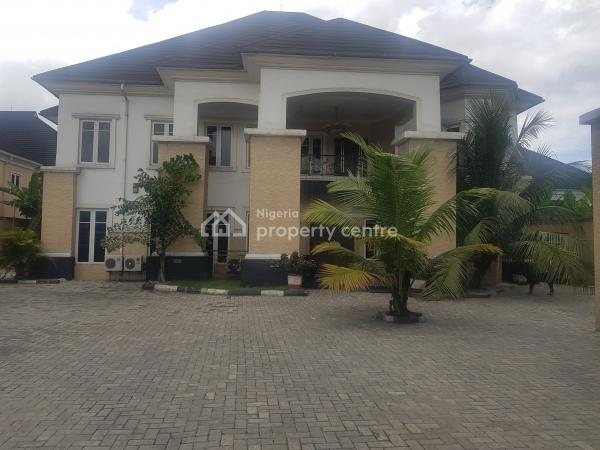Luxurious 6 Bedroom Duplex in a Highly Secured Estate on 2 Plots of Land with Good Title at Peter Odili Road, Peter Odili Road, Trans Amadi, Port Harcourt, Rivers, Detached Duplex for Sale