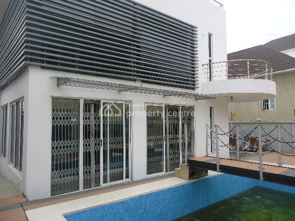 Furnished 4 Bedroom Detached Duplex with 1 Room Bq and Excellent Facilities, Idado, Lekki, Lagos, Detached Duplex for Sale