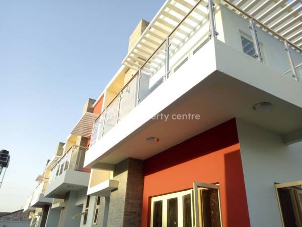 Exquisite 3 Bedroom Terrace Duplex with Classic Fitted Kitchen, Ilasan Road Ilasan Ikate., Ilasan, Lekki, Lagos, Terraced Duplex for Sale