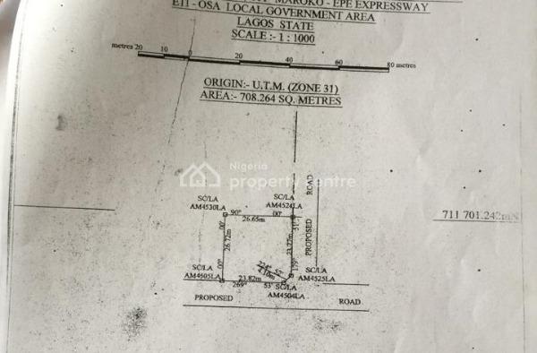 Various Plots Being 623sqms, 708 Sqms, and 692sqms in Vintage Park Estate, Ikate, Ikate Elegushi, Lekki, Lagos, Residential Land for Sale