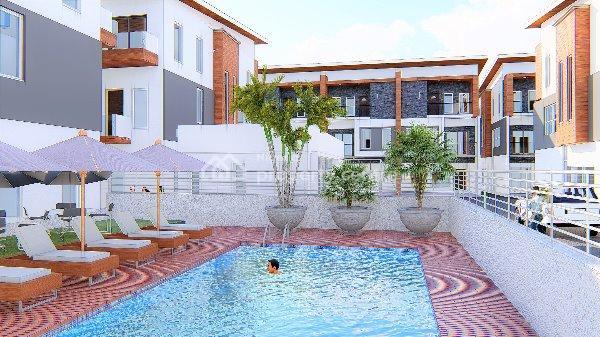 4 Bedroom Terrace + a Maids Room, Freedom Way, Lekki Phase 1, Lekki, Lagos, Terraced Duplex for Sale
