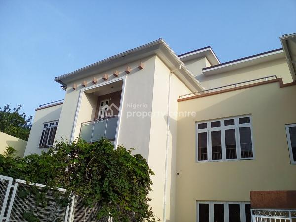 5 Bedroom Terrace Duplex with a Bq and 3 Sitting Rooms for Sale, Guzape District, Asokoro, Guzape District, Abuja, Terraced Duplex for Sale