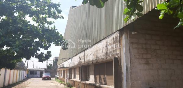 Warehouse Capacity of 24,111 Sqft with Office, Ikeja Industrial, Adeniyi Jones, Ikeja, Lagos, Warehouse for Rent