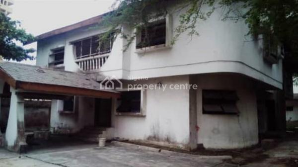a Demolishable 4 Bedroom Detached Duplex with 2 Rooms Bq Sitting on Over 1,200sqm Land, Victoria Island (vi), Lagos, Detached Duplex for Sale
