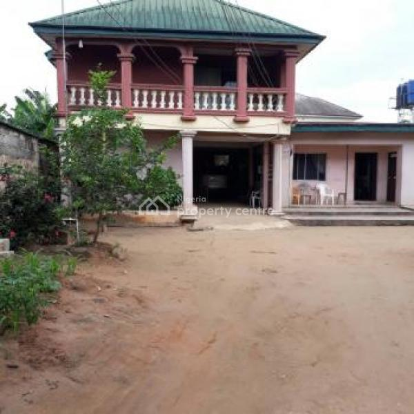4 Bedroom Duplex with 4 Bedroom Bungalow, Off Aba-owerri Road, Aba, Abia, House for Sale