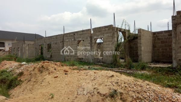 a Well Located and Structured Uncompleted 4 Units of 4 Bedroom Terraced Duplex with Boys Quarter on 1000sqm, Gra, Isheri North, Lagos, Terraced Duplex for Sale