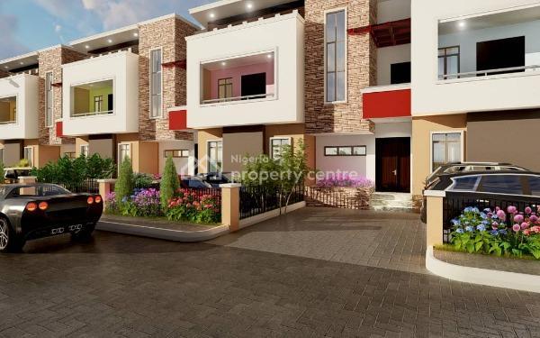 Luxury 3 Bedroom Terrace Duplex Currently Being Built, Opposite Louis Valentino Office, Gaduwa, Abuja, Terraced Duplex for Sale