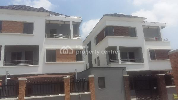 Brand New 5 Bedroom Detached House with 2 Rooms Boys Quarters, Off Gerrard Road, Parkview, Ikoyi, Lagos, Detached Duplex for Sale