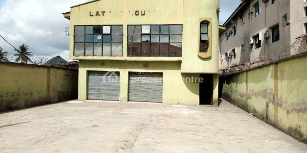 Detached House (ground Floor Open Space and Offices on The First Floor) with Parking Space and Office, Iyana Ipaja Road, Agege, Lagos, Commercial Property for Rent
