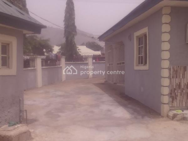 Spacious 3 Bedroom  Bungalow, Arab Road, Close to Nnpc Filling Station., Kubwa, Abuja, Detached Bungalow for Rent