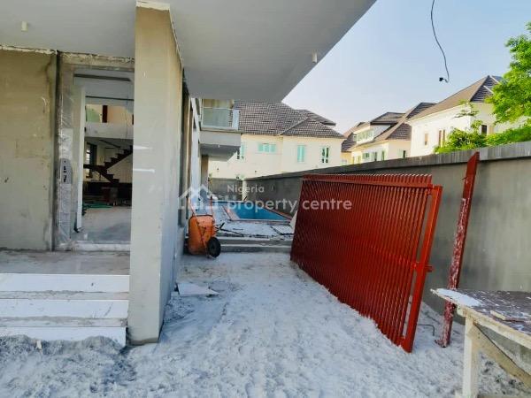 Luxury Five Bedroom Detached Duplex with Bq, Swimming Pool and Cinema, Pinnock Beach Estate, Osapa, Lekki, Lagos, Detached Duplex for Sale