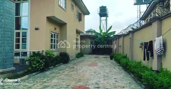 Executive 4 Bedroom Fully Detached & Furnished Duplex, By Transformer Behind Bori Camp Barracks Off Psychiatric Road, Rumuigbo, Port Harcourt, Rivers, Detached Duplex for Rent