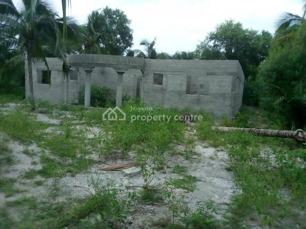 Uncompleted 7-bedroom Bungalow, Old Market Road,, Badagry, Lagos, Detached Bungalow for Sale