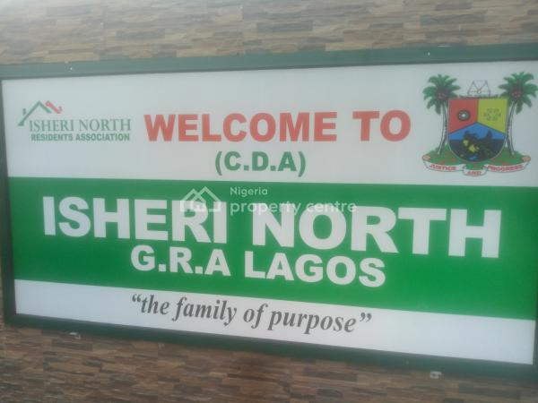 721 Sq M of Land, Gra, Isheri North, Lagos, Residential Land for Sale