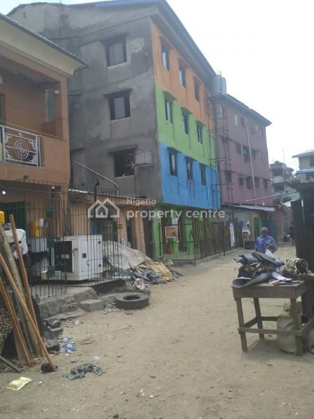 Amazing Deal: 3  Storey Building +  4 No. Lock Up Shops at  Alof Street, Off Omididun Street, Lagos Island, Alof Street, Off Omididun Street, Lagos Island, Lagos, House for Sale