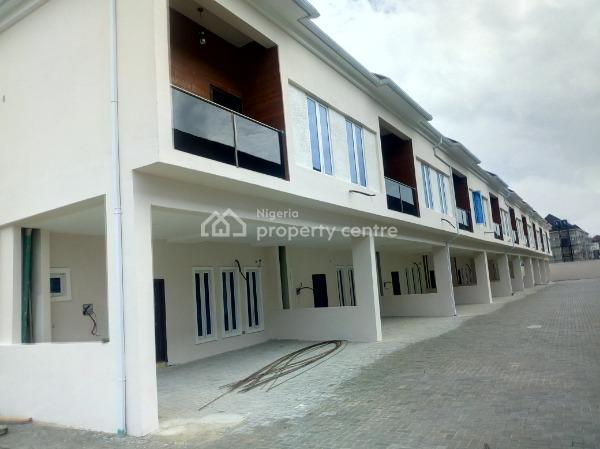 Newly Built Service 3 Bedroom Terrace Duplex with 1 Bq in a Gated Estate, Orchid Road 2nd Tollgate, Lafiaji, Lekki, Lagos, Terraced Duplex for Rent