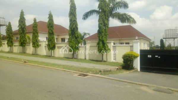 Serviced 5 Bedroom Fully Detached Duplex with 2 Room Bq, Asokoro District, Abuja, Detached Duplex for Rent