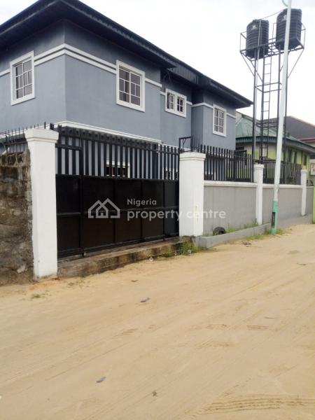 Luxury and Captivating Brand New Storey Building of 4 Flats, Close to Edjeba, Warri, Delta, House for Sale