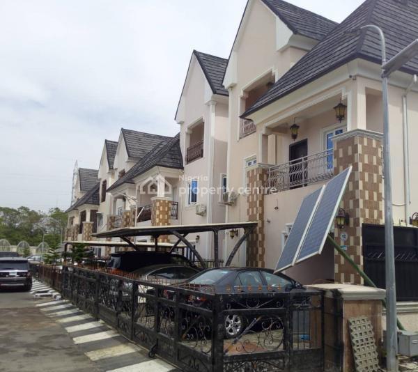 New Luxury 5 Bedroom Terrace Duplex, After Gilmor, Guzape District, Abuja, Terraced Duplex for Sale