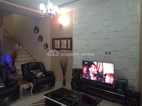 Fully Furnished 4 Bedroom Semi Detached Duplex, Idado Estate Before Chevron Roundabout Lekki Lagos, Idado, Lekki, Lagos, Semi-detached Duplex for Sale