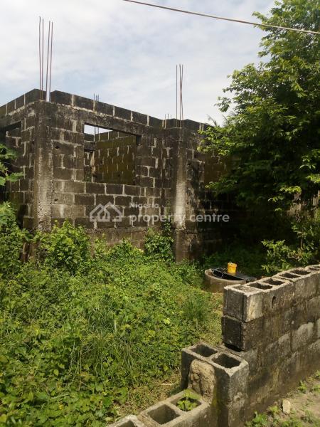 4 Units of 2 Bedroom Carcass on a Full Plot of Land, Oluaye Street, Onosa, Ibeju Lekki, Lagos, Block of Flats for Sale