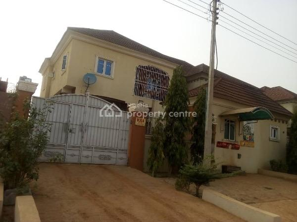 a Semi Detached  4 Bedroom Duplex with The Rooms Bq, Mantegna Estate,close to Godab/brains and Harmmers Estate, Life Camp, Gwarinpa, Abuja, Semi-detached Duplex for Sale
