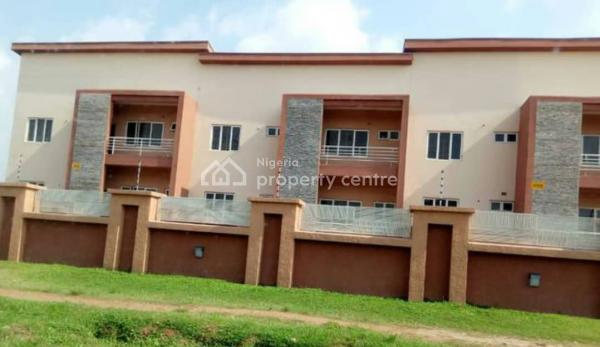 Brand New 4-bedroom Terraced Duplex with 2 Rooms Bq and Two Living Rooms, Jabi, Abuja, Terraced Duplex for Rent