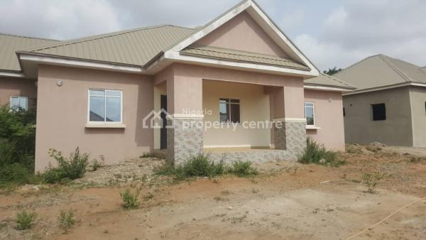 This Is 3 Bedroom Semidetached Bungalow, Voice of Nigeria Garden City Estate, Lugbe District, Abuja, Semi-detached Bungalow for Sale