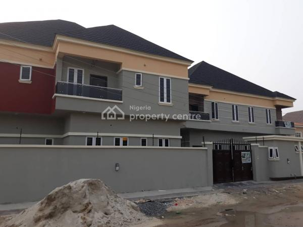 Exclusively Finish 4 Bedroom Duplex with a Room Bq, Furnished Kitchen in an Estate with Governors Consent, Greenland Estate, Olokonla, Ajah, Lagos, Semi-detached Duplex for Sale
