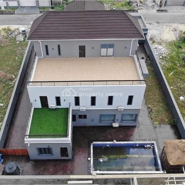 Grandeur 5 Bedroom Fully Detached Duplex with Swimming Pool, Gym and Rooftop Terraces., Pinnock Beach Estate, Osapa, Lekki, Lagos, Detached Duplex for Sale