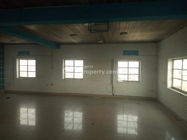 Decent Open Planned Office Space, Alagomeji, Yaba, Lagos, Office Space for Rent