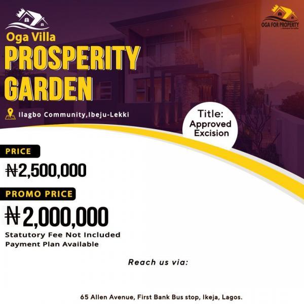 Prosperity Garden Land, Ilagbo, Ibeju Lekki, Lagos, Mixed-use Land for Sale