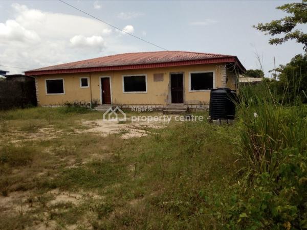 a Plot of Land with 3 Bedroom Bungalow, Km 30 Lekki Epe Expressway,, Imalete Alafia, Ibeju Lekki, Lagos, Mixed-use Land for Sale