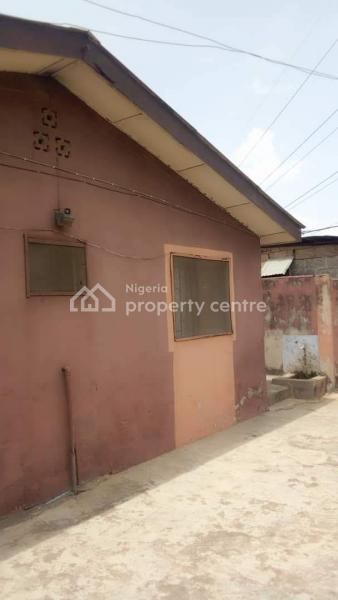 Decent 2nos of 2 Bedroom Flat and 1 Mini Flat with Shop on Half Plot of Land, Okunola, Egbeda, Alimosho, Lagos, Detached Bungalow for Sale
