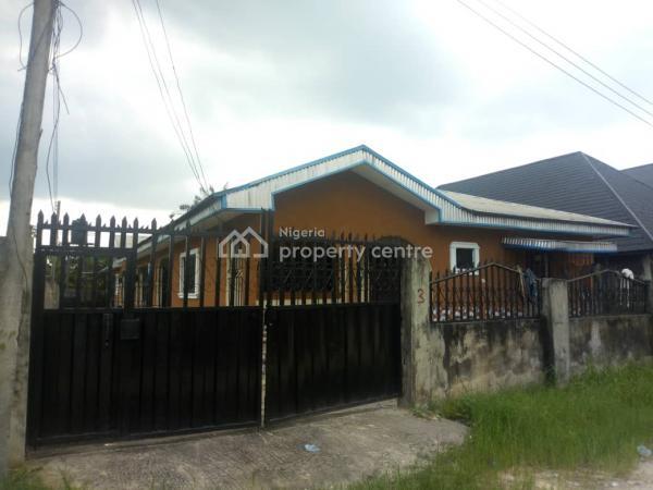 Classic Semi Detached Bungalow, Udu Road, Udu, Delta, Semi-detached Bungalow for Sale