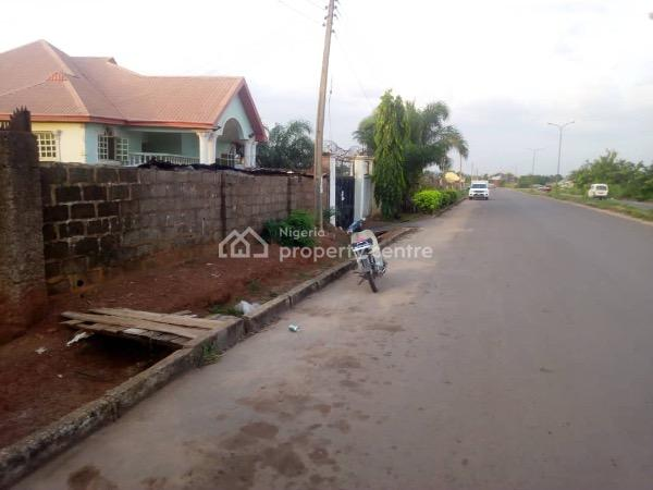 811sqm Land Along a Dual Road, Close to Apple Lodge, Dual Carriage Road at Golf 1, Gra, Enugu, Enugu, Mixed-use Land for Sale