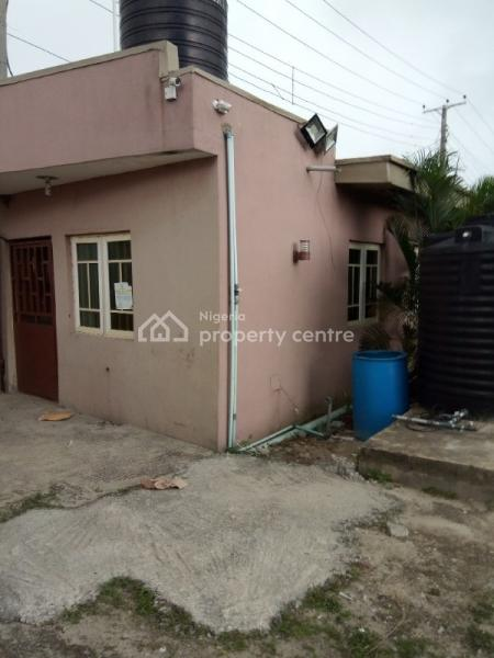 a Full Plot of Land with a Mini Flat Structure, Directly Off Freedom Way, Lekki Phase 1, Lekki, Lagos, Commercial Land for Rent