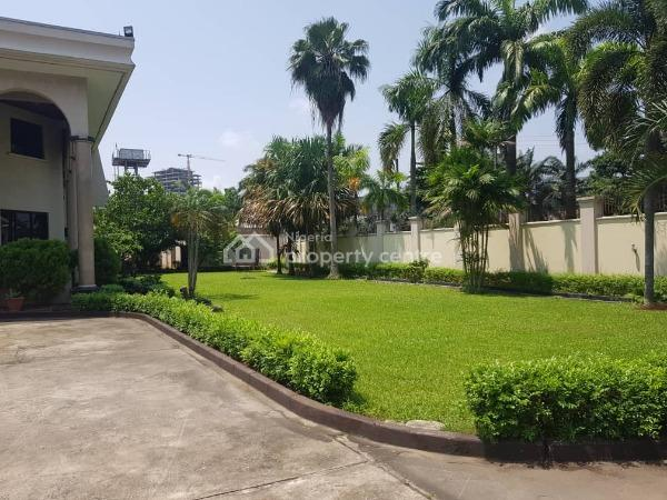 Luxury 7 Bedroom Detached House with 6 Rooms Boys Quarters and a 3 Bedroom Guest Chalet Sitting on 3,000sqm, Bourdillon Road, Old Ikoyi, Ikoyi, Lagos, Detached Duplex for Rent
