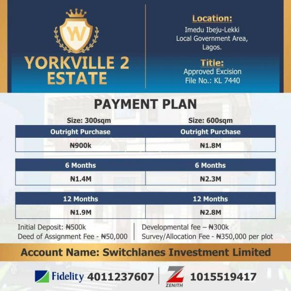 Newly Launched Estate with Perfect Title at a Very Competitive Price per Plot, Orimedu, Ibeju Lekki, Lagos, Mixed-use Land for Sale